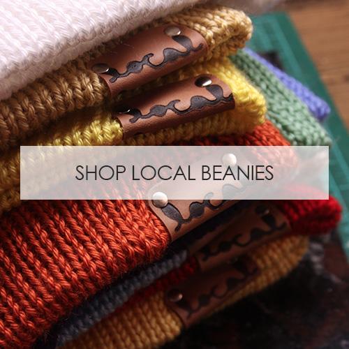 Shop Local Beanies