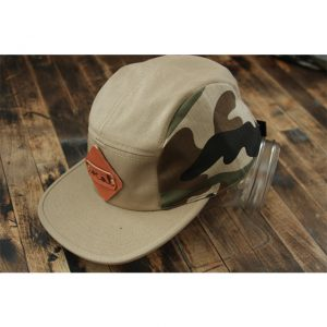 Camouflage Denim 5-Panel Strapback