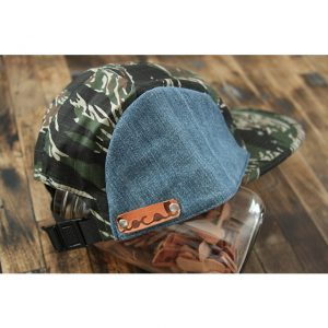 Denim 5-Panel Strapback