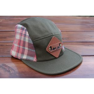 Pale Ale Plaid Flannel 5-Panel Strapback