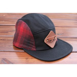LumberJack Plaid Flannel 5-Panel Strapback