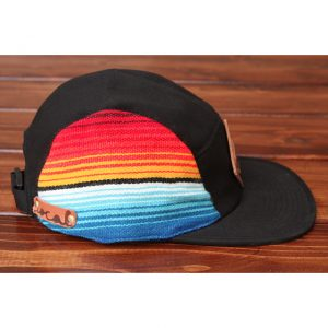 Mexican Serape Blanket 5-Panel Strapback