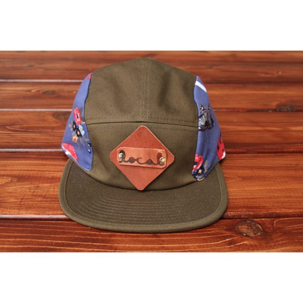 Little Woodland Critters 5-Panel Strapback