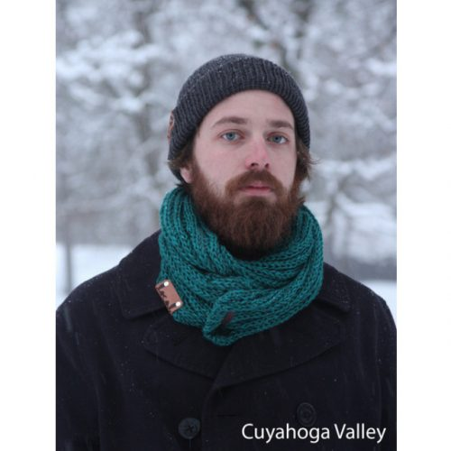 Cozy Scarf Local Knits Cuyahoga Valley