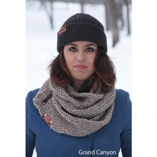 Cozy Scarf Local Knits Grand Canyon