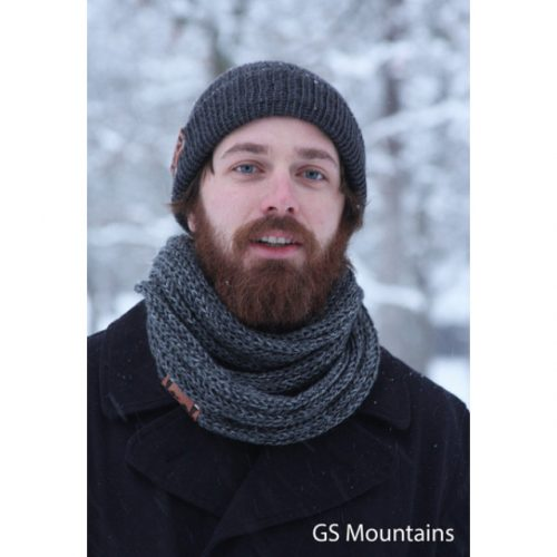 Cozy Scarf Local Knits GS Mountain