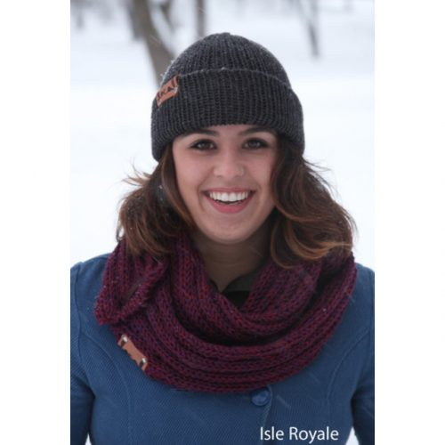 Cozy Scarf Local Knits Isle Royale