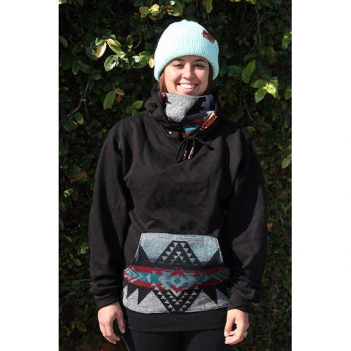 Southwest Blanket Ninja Hoodie
