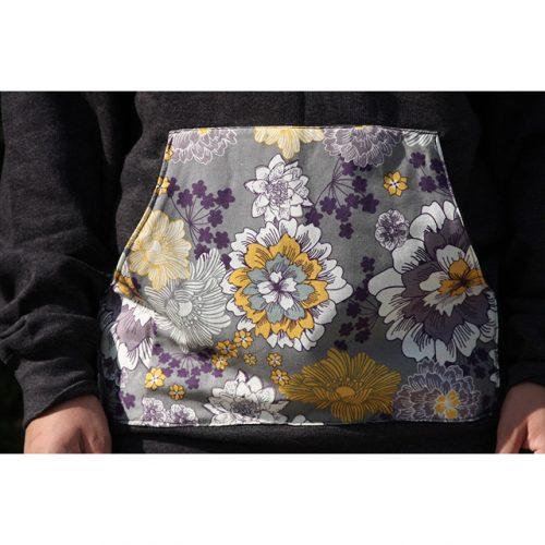 Sketchy Floral Hoodie