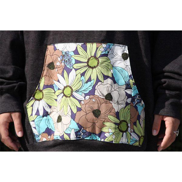 Retro Floral Hoodie