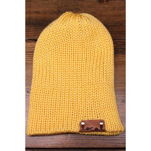 Soft Yellow Beanie