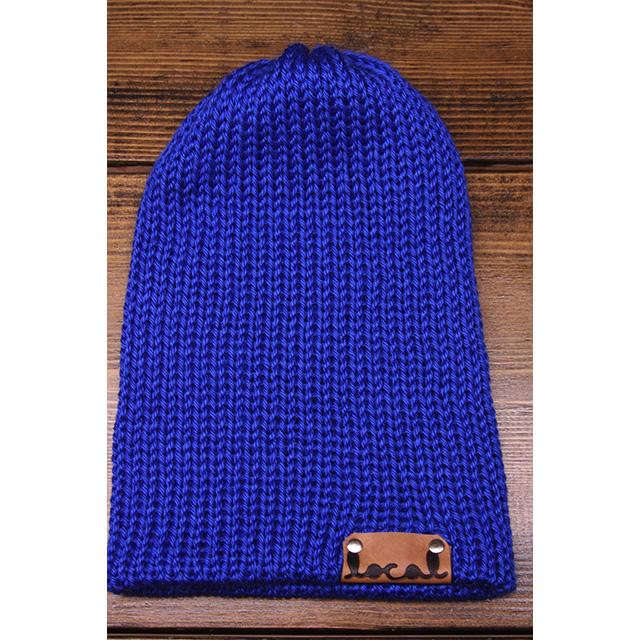 Royal Blue Beanie - Local Knits c0f67d4d15c6