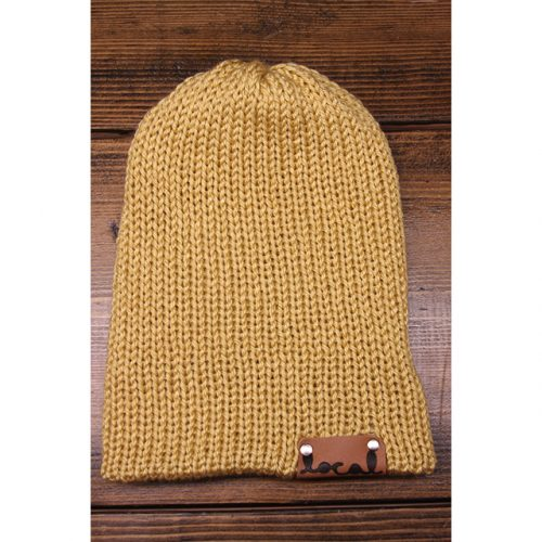Autumn Maize Beanie Local Knits