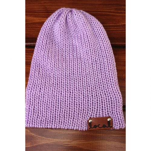 Lavender Beanie by Local Knits
