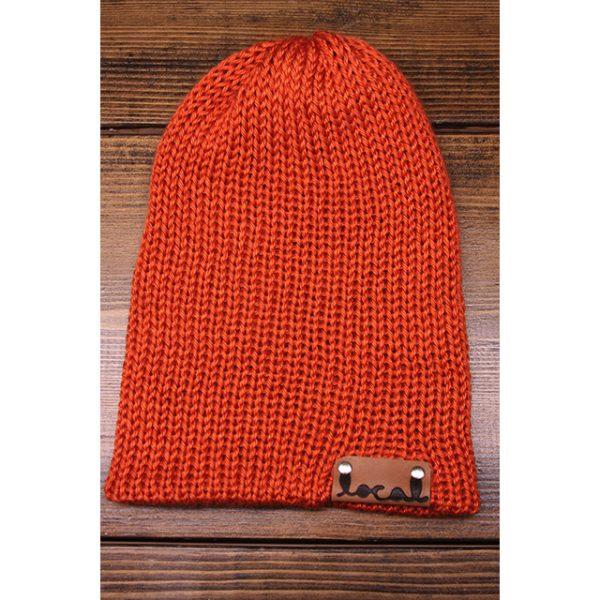 Orange Beanie