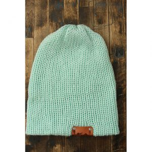 Solid Mint Beanie