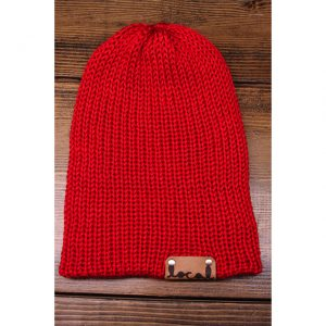 Bright Red Beanie