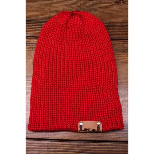 Bright Red Beanie