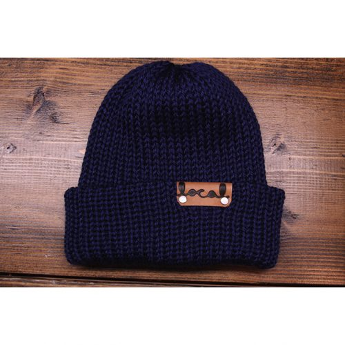 Navy Beanie Local Knits