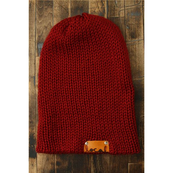Autumn Red Beanie