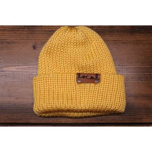 Soft Yellow Beanie