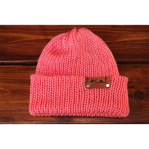 Coral Beanie Local Knits