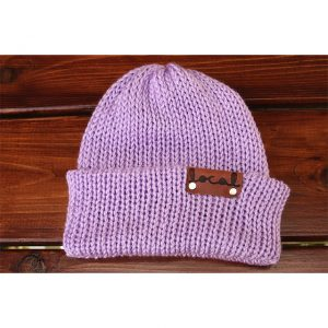 Lavender Beanie Local Knits