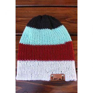 Raven's Blood 4 Stripe Beanie