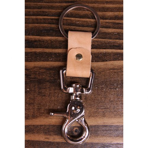 Naked Leather Nickel Key Collector