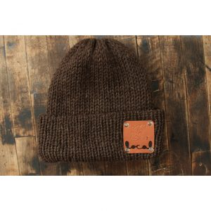 Natural Brown Woodsman Beanie