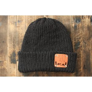 Dark Gray Woodsman Beanie