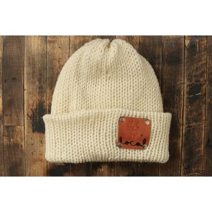 Natural Cream Woodsman Beanie