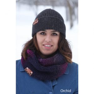 Tweed Scarf Orchid