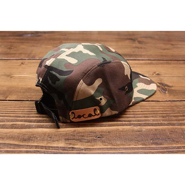 64ad8977d7594 Local Knits Camo Wax Canvas Camper Strapback